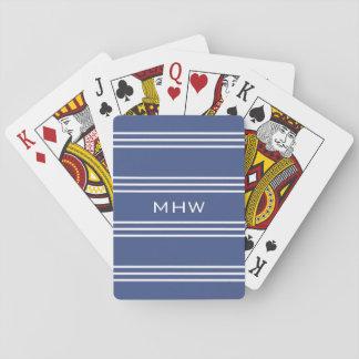 Cartes À Jouer Cartes de jeu faites sur commande marines de