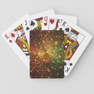 Cartes À Jouer Ciel étoilé coloré