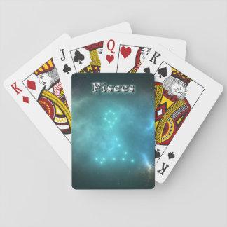 Cartes À Jouer Constellation de Poissons