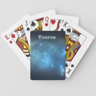 Cartes À Jouer Constellation de Taureau