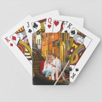 Cartes À Jouer De Venise avec amour