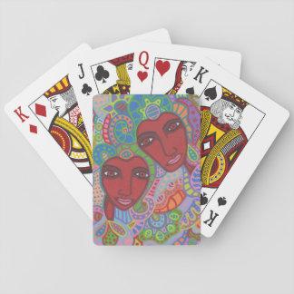 Cartes À Jouer Deux de coeurs