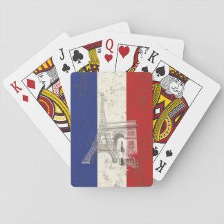 Cartes À Jouer Drapeau et symboles de la France ID156