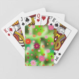 Cartes À Jouer gisements de fleur