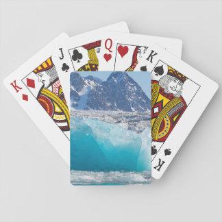 Cartes À Jouer Glace bleue de glaceir, Norvège