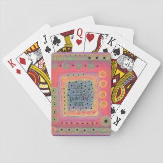Cartes À Jouer La vie est un beau tour