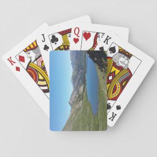 Cartes À Jouer Lac dans les cartes de jeu de montagnes rocheuses