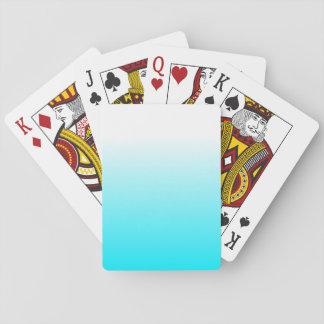 Cartes À Jouer Les femmes autoguident le bleu frais à la mode