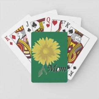 Cartes À Jouer Marguerite jaune -