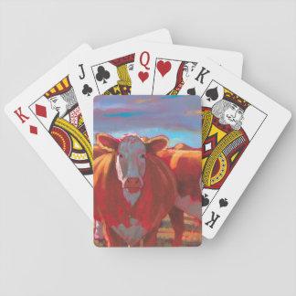 Cartes À Jouer Marguerite les cartes de jeu de vache
