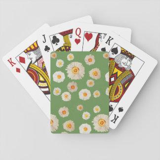 Cartes À Jouer Marguerites dessinant les cartes de jeu