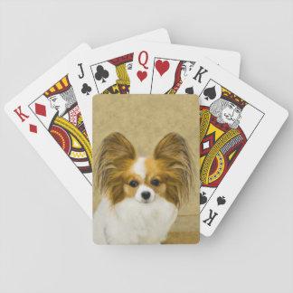 Cartes À Jouer Papillon (tri couleur de chien)