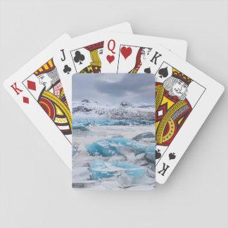 Cartes À Jouer Paysage de glace de glacier, Islande