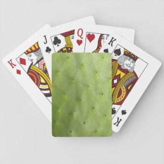 Cartes À Jouer Photo verte botanique tropicale de cactus