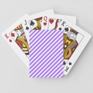 Cartes À Jouer Rayures standard de diagonale de cartes de jeu