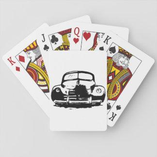 Cartes À Jouer Rétros cartes de jeu de voiture