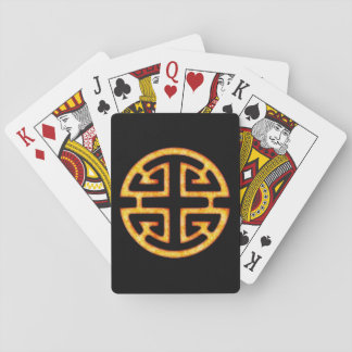 Cartes À Jouer Symbole chinois de Lu