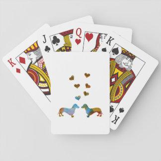 Cartes À Jouer Teckels