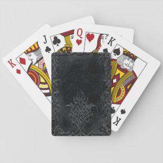 Cartes À Jouer Tribal d'obscurité de Falln