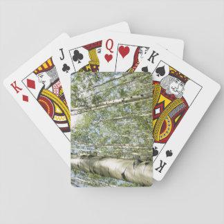 Cartes À Jouer Un beau jour dans les cartes de jeu de forêt