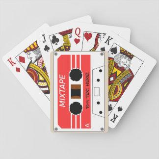 Cartes À Jouer Un enregistreur à cassettes stylisé