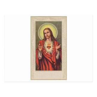 Cartes commémoratives dépeignant Jésus