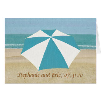 Cartes de faire-part de mariage de parapluie de