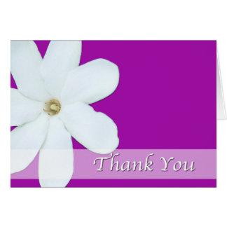 Cartes de fleur de Merci