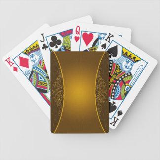 Cartes de jeu d'arrière - plan de Brown Jeu De Poker