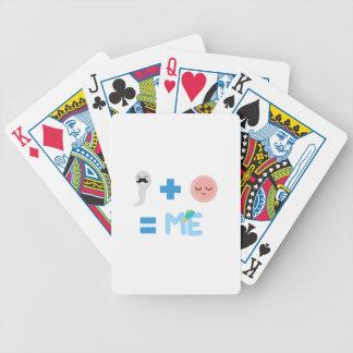 Cartes de jeu de bicyclette de processus de jeu de cartes