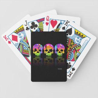 CARTES de JEU de CRÂNES d'art de bruit Jeux De Cartes