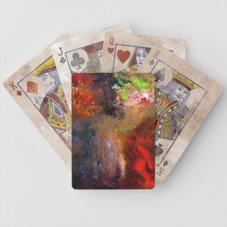 Cartes de jeu de Desarroi Cartes De Poker