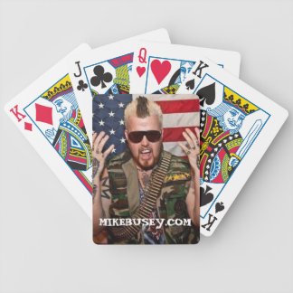 Cartes de jeu de Mike Busey Jeu De Poker