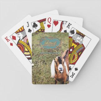 Cartes de jeu de puissance de chèvre cartes à jouer