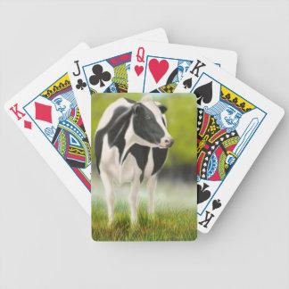 Cartes de jeu de vache à lait du Holstein Cartes À Jouer