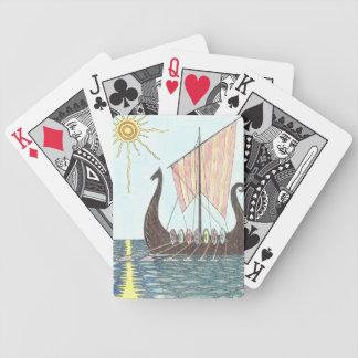 Cartes de jeu de VIKING DRAGONBOAT Jeu De Poker