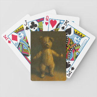 Cartes de jeu d'ours de nounours de zombi jeux de cartes