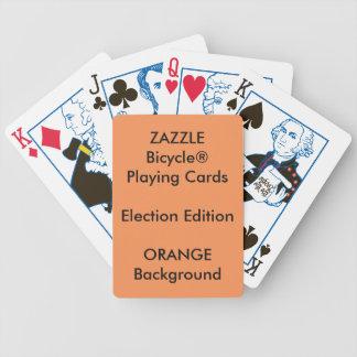 Cartes de jeu faites sur commande ORANGES Jeu De Cartes