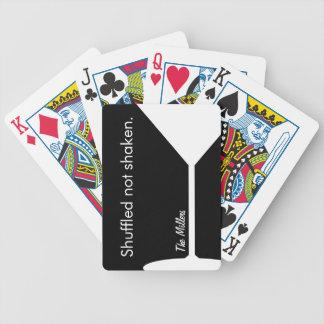 Cartes de jeu personnalisées par Martini drôles Jeu De Cartes