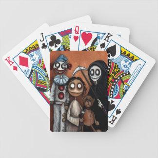 Cartes de jeu peu intellectuelles d'art de Goth Jeu De Cartes