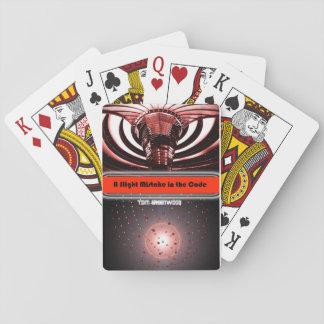 Cartes de jeu pour 'une légère erreur dans le Code Jeu De Cartes