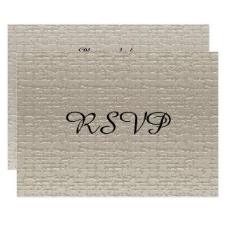 Cartes de l'anniversaire de mariage RSVP, Blanc-Or