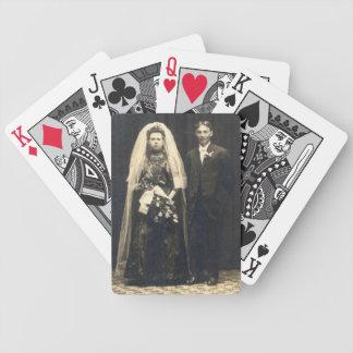 Cartes de mariage de Goth Jeux De Cartes