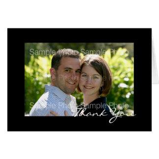 Cartes de Merci de mariage de photo personnalisées