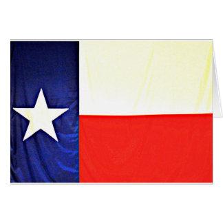 Cartes de note de drapeau du Texas