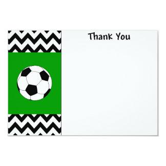 Cartes de note de Merci du football