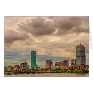 Cartes de note d'horizon de Boston