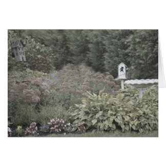 Cartes de note victoriennes de jardin