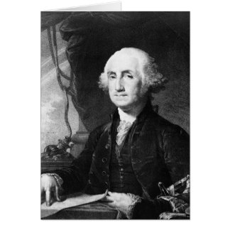 Cartes de portrait de George Washington