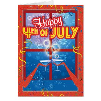 Cartes de prison - 4 juillet heureux